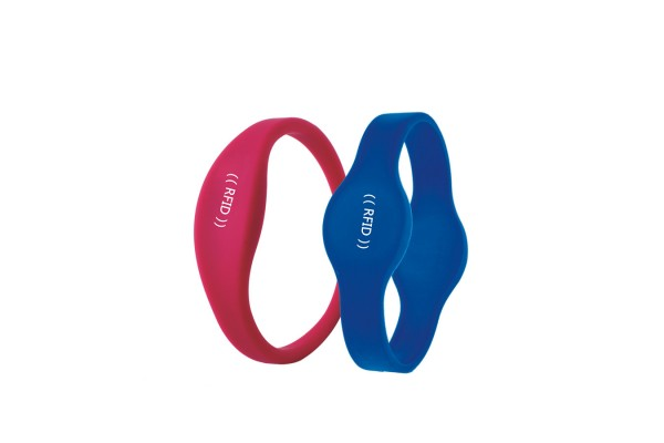 HOT MOULD- ISO14443A NTAG213 NFC SILICONE WRISTBAND